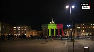 Belgian Flag Monuments Around The World Light Up For Brussels Cnn Video