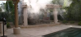 Patio Misters Aluminum Shade Structures Misting Systems