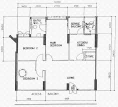 floor plans for senja road hdb details srx property