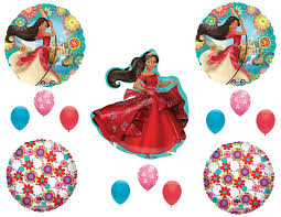 Balloon Decoration For Birthday At Home by Amazon Com Elena Of Avalor Happy Birthday Party Balloons