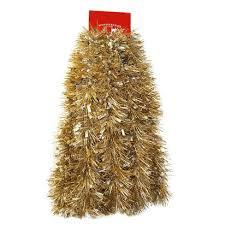 tinsel garland 12ft christmas silver gold tinsel garland wondershop target