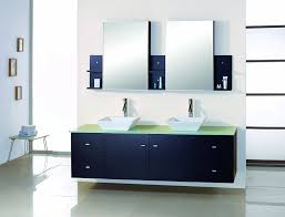 Virtu Bathroom Accessories by Virtu Usa Md 409 G Es Clarissa 72 Inch Wall Mounted Double Sink