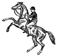 image of horse riding clipart 11714 horse back riding clip art