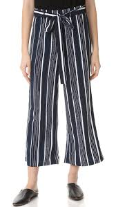 cupcakes and cashmere henderson flare crop pants shopbop