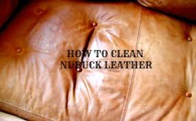 How To Clean A Leather Sofa by Nubuck Leather Fox Den Rd