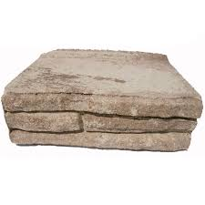 Interlocking Concrete Blocks Lowes by Shop Ledgewall Sand Tan Retaining Wall Block Common 4 In X 12 In