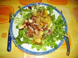 cuisine salade recette salade vosgienne 750g