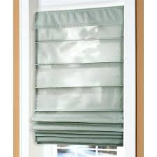Roman Shade For French Door - what does the back of a roman shade look like how to make roman