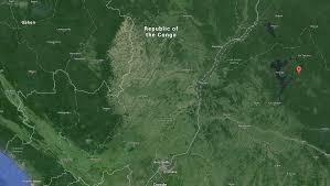 Congo River Map Congo River Congo Waterbodies Org