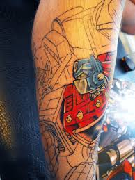 s13 tattoos transformers tattoo
