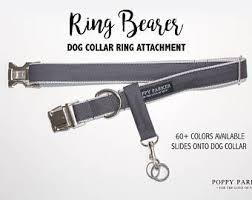 acrylic dog ring holder images Dog ring bearer etsy jpg
