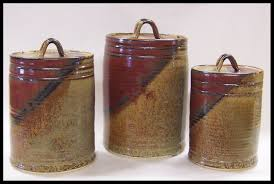 interior design 28 pottery kitchen canister sets canister