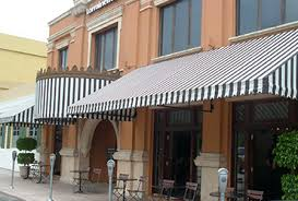 Canvas Awning Commercial Awnings Brighter Awning Of Florida