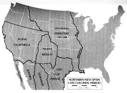 mexico map 1800 welcome
