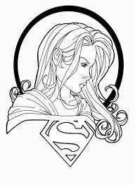 Supergirl 26 Superheroes Printable Coloring Pages Batgirl And Supergirl Coloring Pages Printable