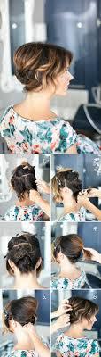 Kurze Haare Hochstecken Hochsteckfrisurenen by 1001 Ideen Wie Sie Effektvolle Hochsteckfrisuren Selber Machen