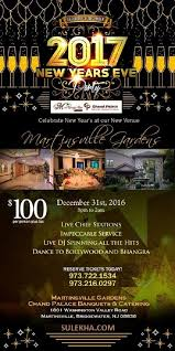 new years events in nj the chand palace new year 2017 party in martinsville gardens