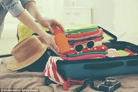 Packing Hacks by The Packing Hacks You Need To Know This Summer Daily Mail Online