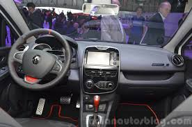 Clio Renaultsport 220 Trophy Edc Dashboard At The 2015 Geneva