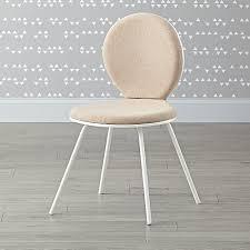 linen desk chair white upholstered desk chair the land of nod