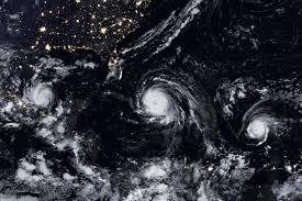 hurricanes madeline and lester nasa