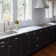 Gray Cabinets With White Countertops Gold And Gray Kitchen With Steel Countertops Contemporary
