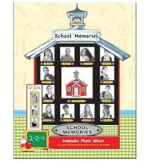 school photo album school memories album keepsake album