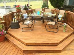 Wood Patio Deck Designs Patio Ideas Patio Deck Kits With Patio Furniture Set And Wooden