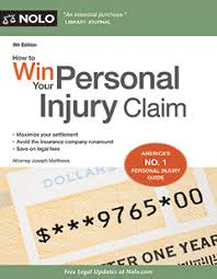 how to win your personal injury claim legal book nolo