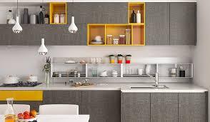 Modern Style Kitchen Cabinets Caunhye Concept Oppein Op16 M06
