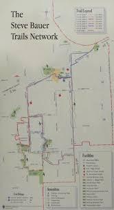 Green Circle Trail Map Exploring Niagara Steve Bauer Trail Map
