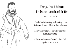 martin frobisher hold our dominion