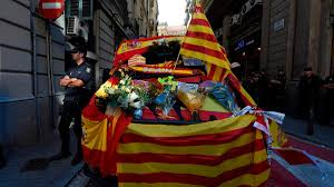 Flag Of Catalonia All Eyes On Puigdemont As Catalans Awake To Their Day Of Destiny