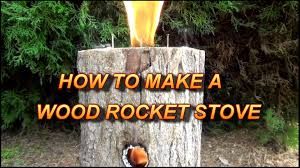 how to make a wood rocket stove easy u0026 multi use youtube