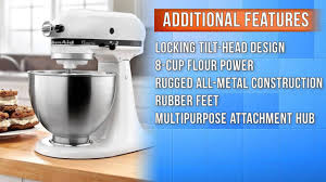 Kitchenaid Classic Stand Mixer by Kitchenaid Classic Plus 4 5 Qt Stand Mixer Youtube