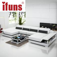 Sectional Sofa Sets Ifuns U Shaped Black Cheap Modern Design Sectional Sofa