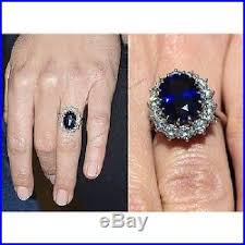 kate wedding ring blue sapphire kate s middleton style engagement wedding ring size