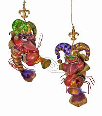 mardi gras ornaments katherine s collection crawfish ornament jester band mardi gras