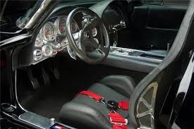 custom c3 corvette dash custom 63 corvette with mid mounted 1 000 hp motor for sale