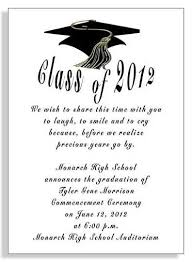 college graduation announcement template sles of graduation announcements college graduation