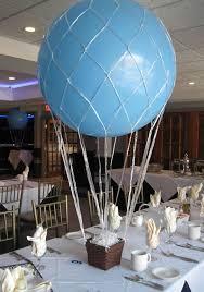 hot air balloon centerpiece diy hot air balloon centerpiece balloon centerpieces hot air