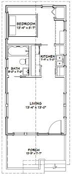 floor plan of a house 14x30 tiny house 14x30h1a 419 sq ft excellent floor plans