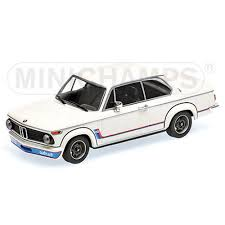 bmw 2002 model car bmw 2002 turbo 1973 white 1 18