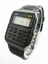 Jam Tangan Alba Digital casio black calc retro jam tangan kw 1
