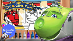 chuggington koko u0027s magic coloring box youtube