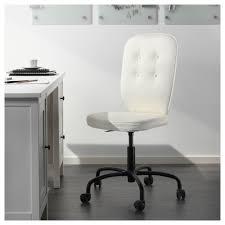 White Swivel Office Chair Lillhöjden Swivel Chair Blekinge White Ikea