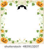 halloween frames free vector art 5405 free downloads