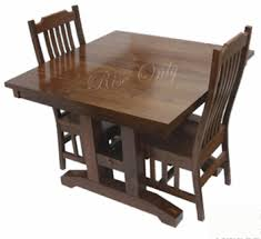 Folded Dining Table Portable Indian Sheesham Wooden Folding Dining Table Set With 2