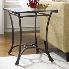 wrought iron end tables glass and wrought iron end tables table designs and ideas