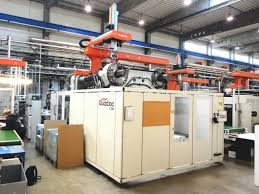 husky quadloc 1350 rs 115 95 injection moulding machine exapro